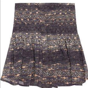 Isabel marant nephi printed silk georgette skirt